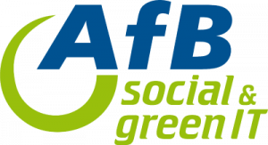 Logo AfB social and green IT