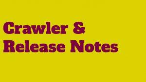 Headerbild Crawler and Release Notes