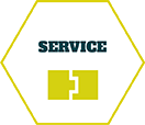 Das Blütenblatt-Icon des OFFICE ASSET Moduls Service