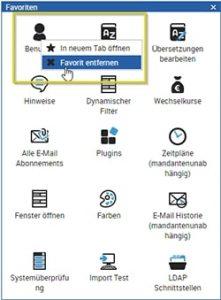Widgets Design Änderung 4